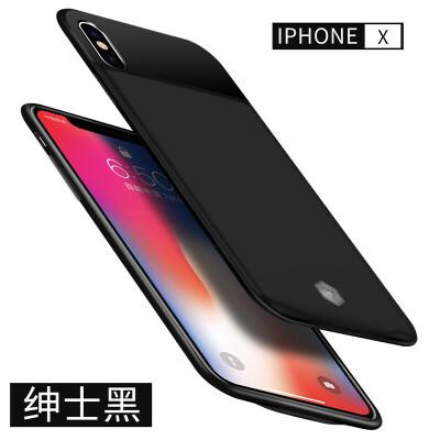 iphone7背夹充电宝苹果7plus电池X背夹式8专用7P超薄手机壳5/5S无线大容量6s手机壳