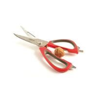法国mastrad 厨房多功能不锈钢强力剪刀 红色 F24515