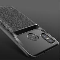 小米8青春版背夹充电宝8SE专用电池超薄手机壳式小米8无线充电器8 小米8 格致黑