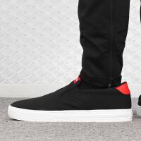 幸运叶子 Adidas/阿迪达斯男鞋春季新款低帮运动鞋帆布鞋舒适轻便防滑耐磨套脚板鞋休闲鞋EE7837