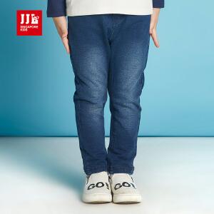 jjlkids季季乐男童牛仔裤春秋款2017新款小男孩长裤宽松休闲裤子BQK63222