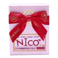 【美陆生技AWBIO】日本*NICO鱼鳞水解胶原蛋白胜肽(60包/盒)