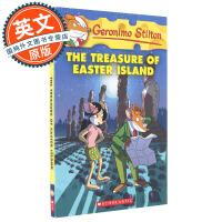 老鼠记者 英文原版 The Treasure of Easter Island#60 复活节的宝藏 Geronimo