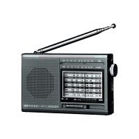 PANDA/熊猫6120收音机新款便携式老人全波段半导体调频小型迷你老年广播老式小型迷你接受信号强复古随身听