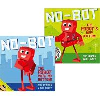 【预售】No-Bot -the Robot with No Bottom No-Bot -the Robot's New