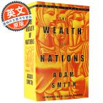 国富论 英文原版?The Wealth of Nations 进口书?Adam Smith 亚当斯密 Bantam 经