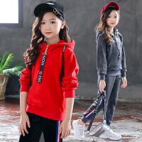 女童秋冬装运动套装女孩衣服