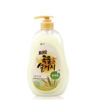 韩国原装进口正品 爱敬洗洁精 小麦/米糠 天然洗涤灵 洗碗 洗蔬菜 洗水果 大瓶装