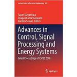 【预订】Advances in Control, Signal Processing and Energy Syste