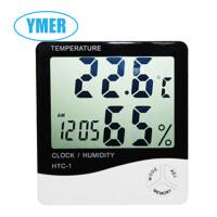 YMER易觅尔 大屏幕家用温度计温湿度计 数显温湿度计 带闹钟