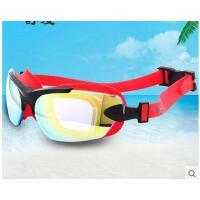 新款高清防雾业成人游泳眼镜泳镜男女士大框防水游泳镜专可礼品卡支付