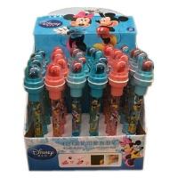 印章泡泡笔 白雪公主4合1滚轮印章吹泡泡卡通圆珠笔玩具笔礼物