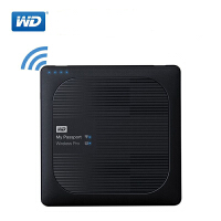 WD西部数据 My Passport Wireless Pro 无线WiFi移动硬盘 2.5英寸2T/3T可选 内置电