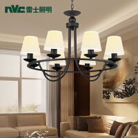 雷士照明led客厅吊灯 奢华卧室餐厅灯现代简约欧式美式吊灯灯具