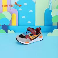 【1件2折后:44.6元】红蜻蜓童鞋儿童男童老爹鞋时尚潮流新款鞋子小童大童冬运动鞋