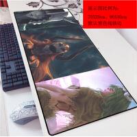 死神一护70x30动漫卡通3mm鼠标垫网吧办公电竞键盘垫游戏加厚(1)