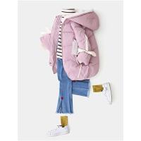 女童外套儿童秋冬款中长棉袄童装女宝宝洋气
