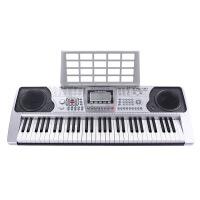 电子琴带教程 初学61键力度琴键 成人儿童早教启智初学教学大液晶屏练习琴