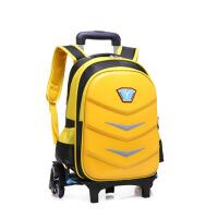 儿童拉杆书包手拉上学行李箱 3-6-9年级带轮拉杆书包男女童