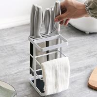 家用铁厨房置物架刀座放菜刀架收纳架厨具用品刀具架