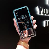 来电闪会发光苹果x手机壳iphonexsmax网红套iPhonexr硅胶新款xs潮