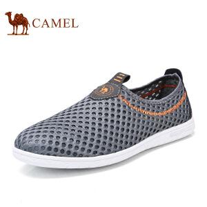 骆驼牌男鞋 新品舒适透气网面鞋耐磨镂空休闲鞋男