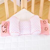 御目 枕头 婴儿枕头防偏头定型枕新生儿0-1-3岁宝宝枕头婴儿荞麦定型枕可调枕距定型纠正防偏荞麦壳芯家居用品