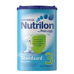 荷兰Nutrilon牛栏奶粉3段(10-12个月宝宝) 800g一罐装 日期新鲜