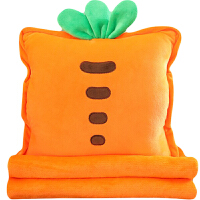 抱枕被子两用车内午睡毯子办公室靠枕折叠午休枕头三合一汽车