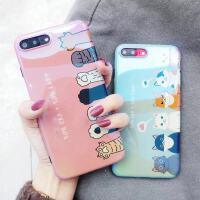 猫爪华为3i/4e手机壳nova2s女款p10plus蓝光p20pro可爱3e软硅胶套 nova4e【蓝光粉色 猫爪】