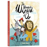绿野仙踪 英文原版 The Wonderful Wizard of Oz 儿童经典文学小说 童话故事 中小学生英语课外阅