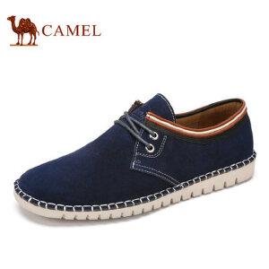 camel骆驼男鞋 春季新品 低帮牛皮男鞋舒适日常休闲男士皮鞋