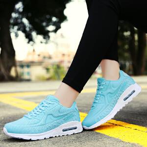 【满200减20/满300减30】Q-AND/奇安达2018新款女士轻便减震运动休闲学生气垫慢跑鞋