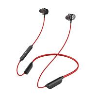 无线蓝牙耳机运动颈挂脖双耳塞式入耳跑步通用重低音防水可接听电话 标配