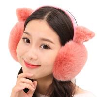 可爱耳罩男女秋冬保暖猫耳朵耳套护耳耳包耳暖毛毛耳捂