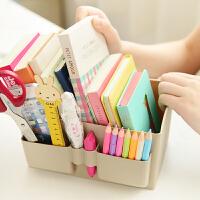 三年二班●大容量塑料韩国杂物桌面收纳盒 护肤品化妆品整理盒