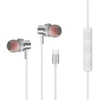 typc-c耳机 小米8耳机mix3八青春探索版6x入耳式tc黑鲨helo专用typc屏幕指纹typ 官方标配