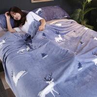 珊瑚绒床单毯子冬季加厚保暖午睡毯小毛巾被绒毯盖毯毛毯