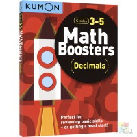 Kumon Math Booster Decimals Grade 3-5年级 公文式教育 小数专项练习 数学计算 儿童