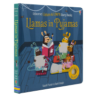 Usborne Listen & Learn Story Books Llamas in Pyjamas 动物睡衣派对