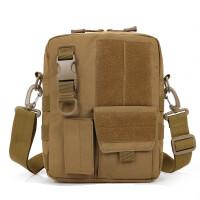 单肩包男士时尚斜挎包IPAD裸机包男包休闲包旅行战术包 均码