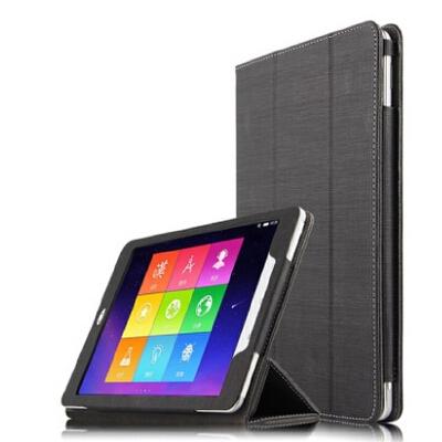 步步高家教机S3 Pro保护套皮套 9.7英寸学生平板电脑支撑外壳套子 S3 Pro 爵士黑+钢化膜