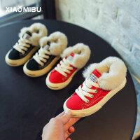 女童棉鞋男童运动鞋儿童保暖鞋子
