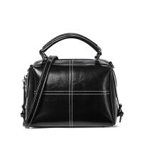 波斯丹顿双面小包包女单肩斜挎包时尚简约百搭牛皮手提包BW1184052
