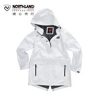 【过年不打烊】NU诺诗兰春夏户外新品防水透湿时尚女式冲锋衣KS072202