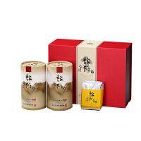 台湾特许好茶红色新年礼盒 阿里山乌龙150g*1罐+阿里山金萱150g*1罐 台湾进口特产高山乌龙茶茶叶茶香浓郁