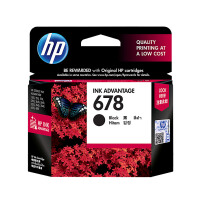 惠普HP 678 号黑色墨盒