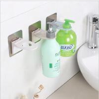 创意浴室强力无痕粘钩卫生间洗手液置物架居家免钉黏胶沐浴露挂架
