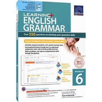 SAP Learning Grammar Workbook 6 小学六年级英语语法练习册在线测试版 新加坡教辅 新亚出版社学习系列 12岁 儿童英文原版图书