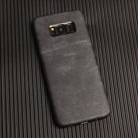 三星S8手机壳简约个性创意全包防摔纯色潮男S8+plus保护套外壳